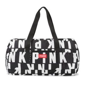 Victoria's Secret Pink Logo Duffle Bag